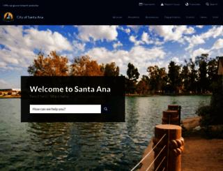 santa-ana.org screenshot