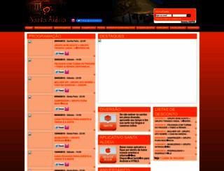 santaaldeia.com.br screenshot