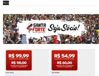 santacruzdecorpoealma.com.br screenshot