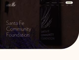 santafecf.org screenshot
