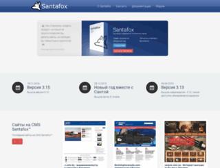 santafox.ru screenshot