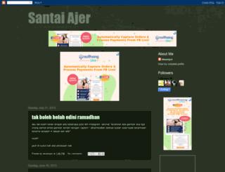 santaiajer.blogspot.com screenshot
