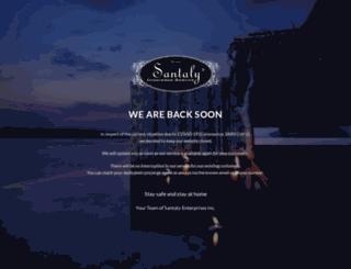 santaly-enterprises.com screenshot