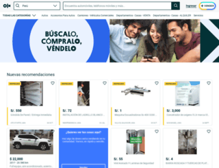 santamaria.olx.com.pe screenshot