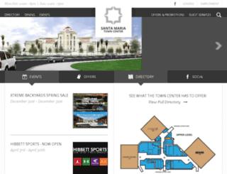 santamariatowncenter.com screenshot