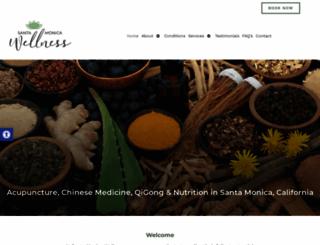 santamonicawellness.com screenshot