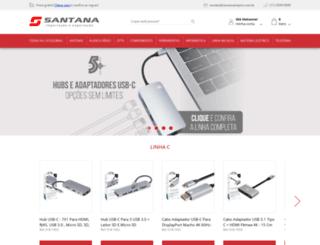 santanacentro.com.br screenshot