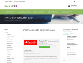santanderbank.kredytgo.pl screenshot