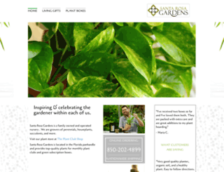santarosagardens.com screenshot