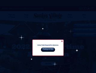 santasvillage.com screenshot