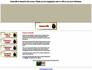 santaville.tripod.com screenshot