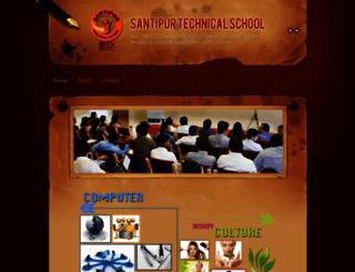 santechs.weebly.com screenshot