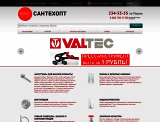 santehopt-perm.ru screenshot