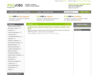santfeliudellobregat.ipsojobs.com screenshot