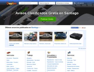 santiago.doplim.cl screenshot