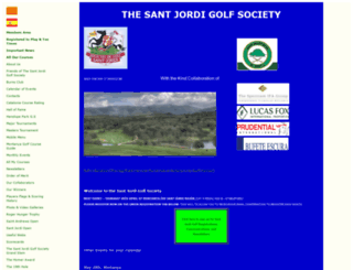 santjordigolf.com screenshot