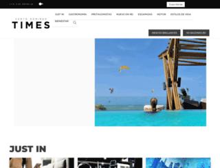 santodomingotimes.com screenshot