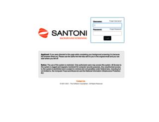 santonibackgrounds.instascreen.net screenshot