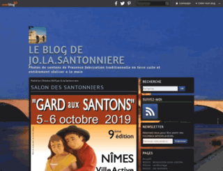santonsdeprovencejo.com screenshot