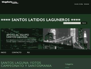 santoslatidos.blogdiario.com screenshot