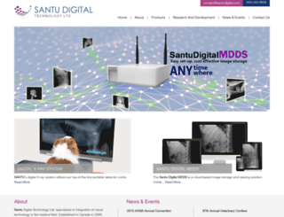 santudigital.com screenshot