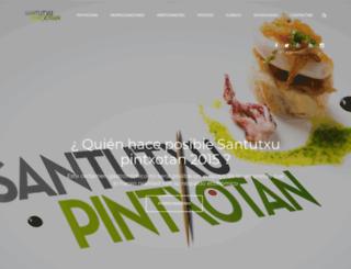santutxupintxotan.com screenshot
