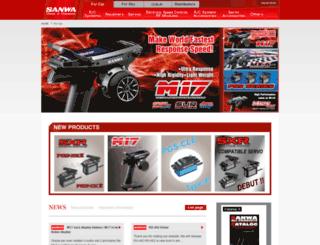 sanwa-denshi.com screenshot