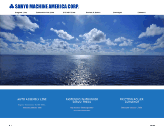 sanyo-machine.com screenshot
