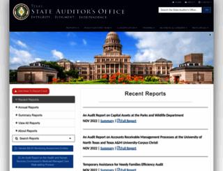 sao.state.tx.us screenshot