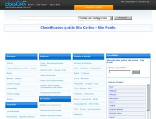 saocarlos.classiopen.com.br screenshot
