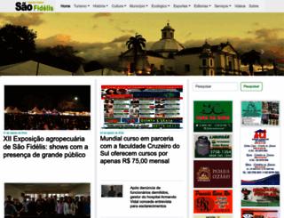 saofidelisrj.com.br screenshot