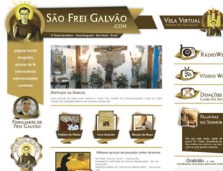 saofreigalvao.com screenshot