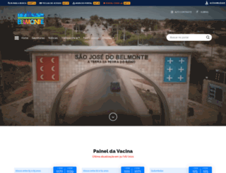 saojosedobelmonte.pe.gov.br screenshot