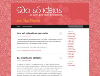 saosoideias.wordpress.com screenshot
