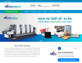 saovietgroup.vn screenshot
