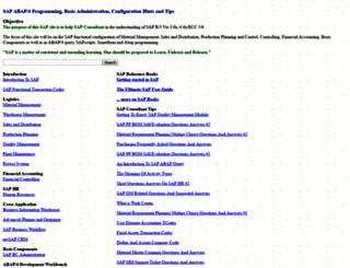 sap-basis-abap.com screenshot