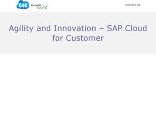 sap-c4c.com screenshot
