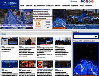 sap-nazionale.org screenshot