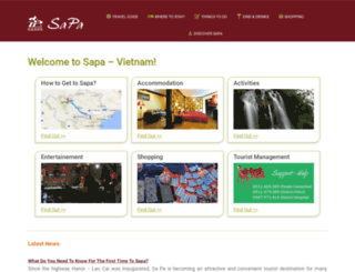 sapa-tourism.com screenshot
