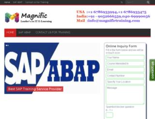 sapabaponlinetraining.co.in screenshot