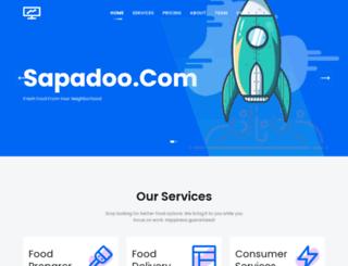sapadoo.com screenshot