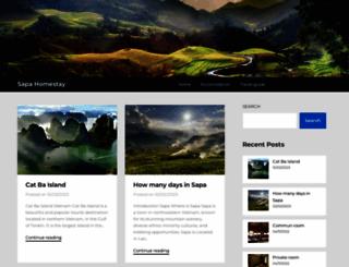 sapahomestay.net screenshot