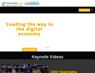 sapandasug2016.sapevents.com screenshot