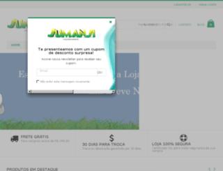 sapatosinfantisjumanji.com.br screenshot