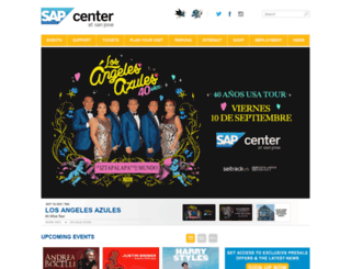 sapcenteratsanjose.com screenshot