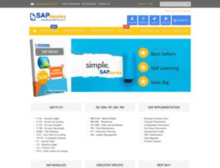 sapebooks.com screenshot