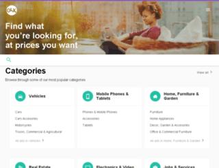 sapele.olx.com.ng screenshot