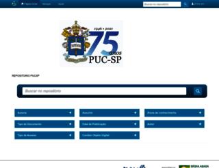 sapientia.pucsp.br screenshot