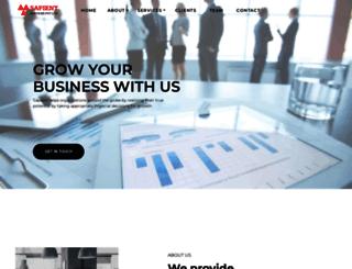 sapientservices.com screenshot