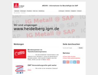 sapler.igm.de screenshot